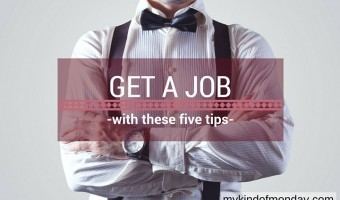 top tips for getting a job