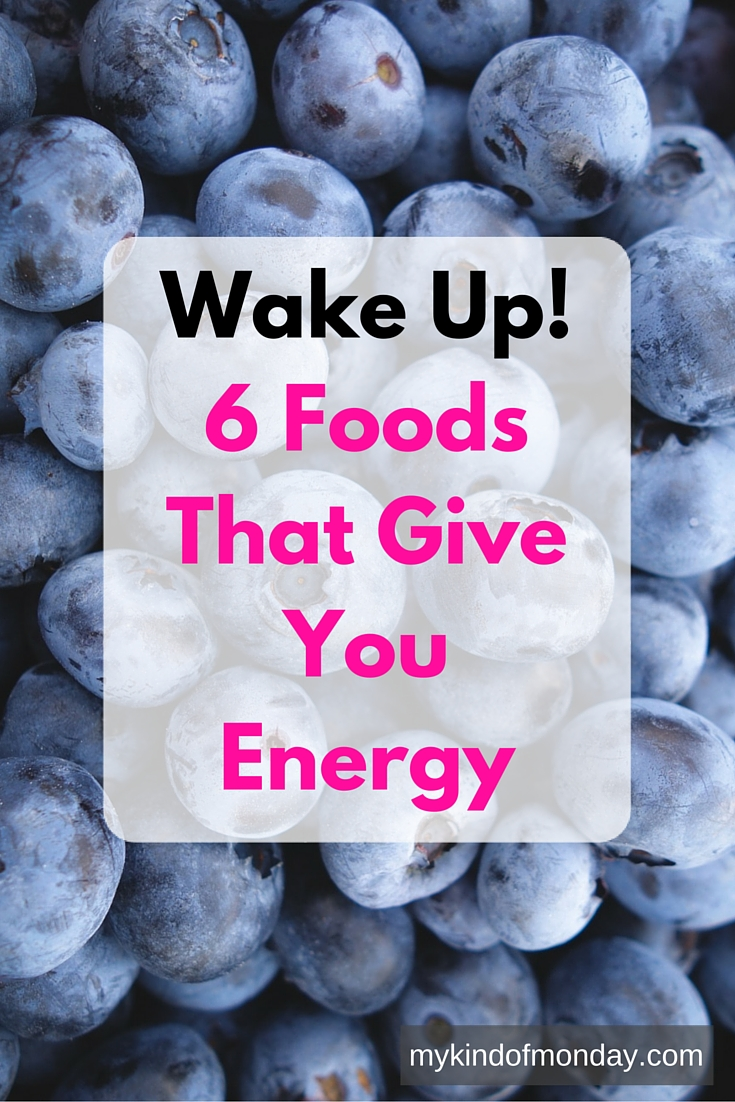 Top foods for giving you that morning energy boost!