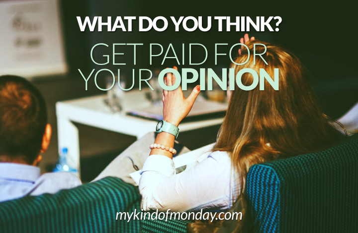 get paid for your opinion online