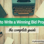 How to Write a Bid Proposal for Freelance Sites