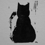 Backward Cat Studio Logo