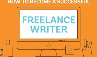 Freelance writer infographic