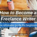 Writing Careers: How To Become A Freelance Writer