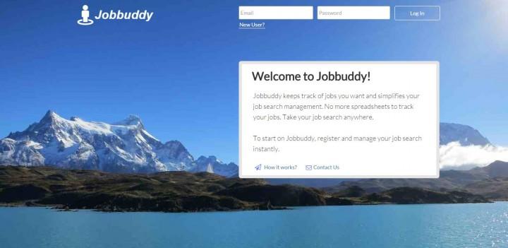 Jobbuddy homepage