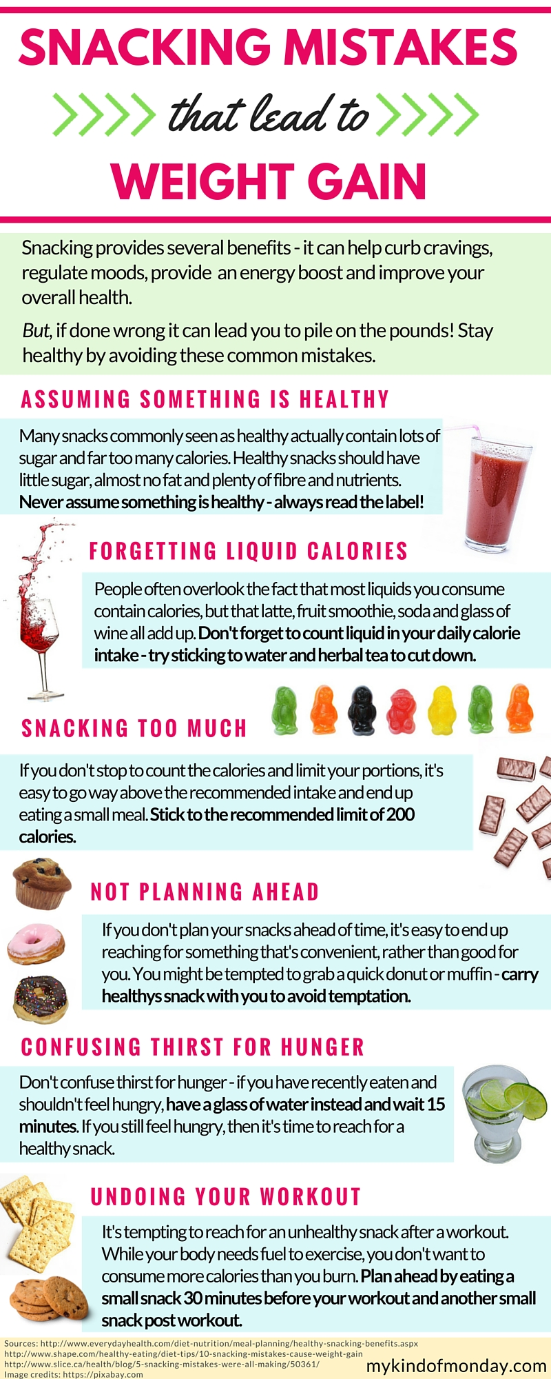 Snacking Mistakes to Avoid