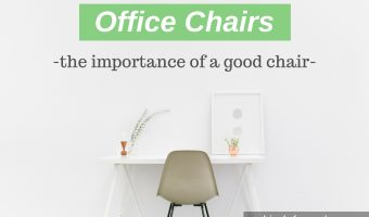 Importance of a Good Office Chair