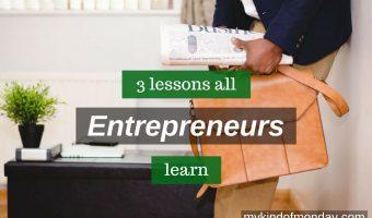 lessons entrepreneurs