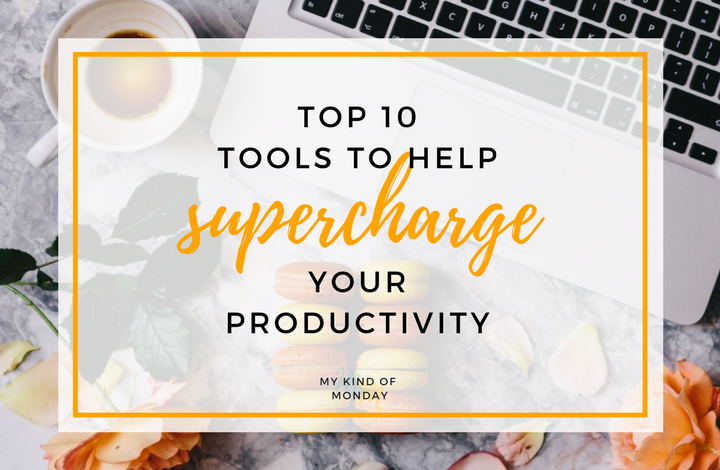 10 Awesome productivity tools that will help you stay focused and organized, so you get the most out of your workday!