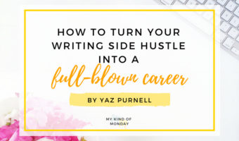 Jaz Purnell guest posts - How to turn your side hustle into a full-blown career
